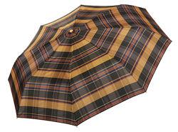 Бесплатная доставка. Стильные  зонты ТРИ СЛОНА в клетку арт. 103