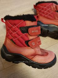 Ecco Gore-tex сапоги зимние