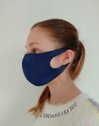Маска защитная многоразовая СиняЯ. Питта маска.