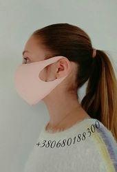 Маска защитная многоразовая РозоваЯ. Питта маска.