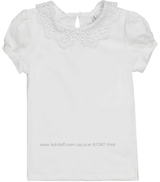 Блуза с кружевным воротником Смил 2019 в наличии