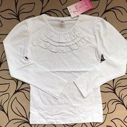Блуза Фламинго белая 122 размер