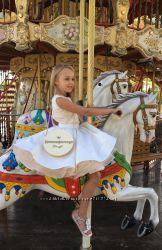 Эксклюзивный нарядный костюм для девочки 2 года, 3 года