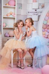 Нарядное детское платья на возраст от 2-х до 11-ти лет