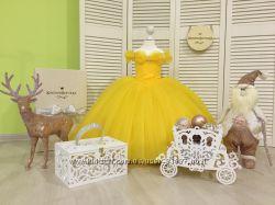 Шикарное платье маленькой принцессы на 5, 6 лет