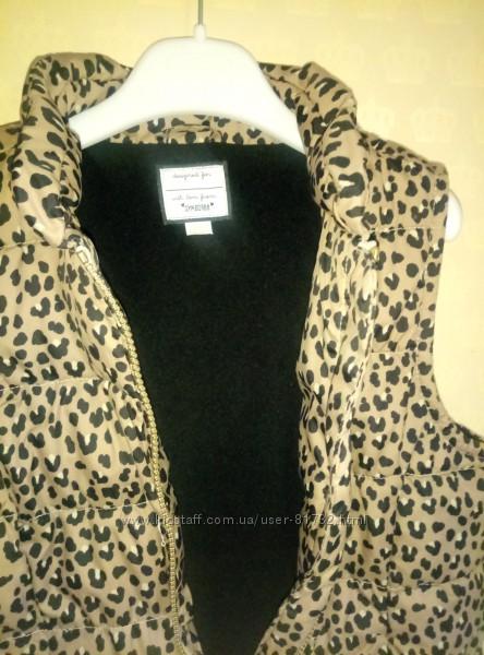 Жилетка куртка девочке на 7 - 9 лет