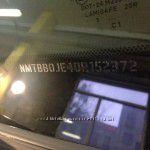 Противоугонная маркировка стёкол и зеркал автомобилей