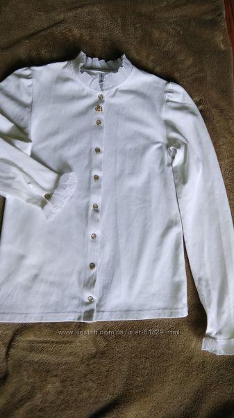 Нарядная блуза Смил школьная коллекция