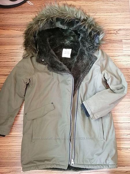Куртка парка осень весна Zara для девочки