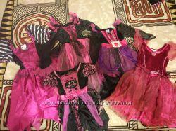 Хеллоуин  платья на 2, 3, 5, 6, 7 лет