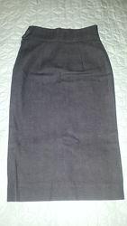 Котоновая юбка миди