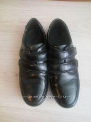 туфли кожаные в школу