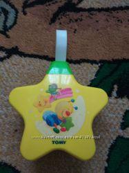 Музыкальная подвесная игрушка ночник проектор
