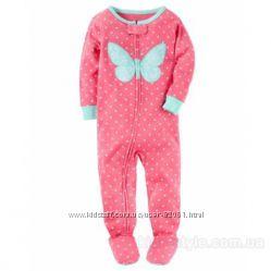Carters пижама комбинезон- надежный защитник от ночных комаров