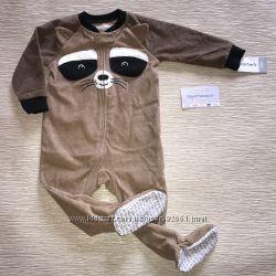 Пижама комбинезон микрофлисовая для мальчика Carters