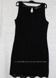 Маленькое черное платье кружево yessica c&a