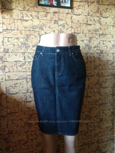джинсовая юбка - Zara Woman - 40Eur - наш 44-46рр.
