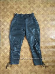Мотоштаны байк брюки галифе кожа Hein Gericke - наш 42р.
