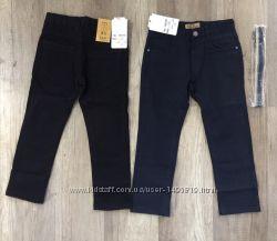 Коттоновые брюки с ремнем р. 6-12