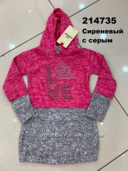 Платье-туника для девочек р. 2-7, Турция
