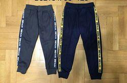 Утепленные спортивные брюки для мальчиков р. 104