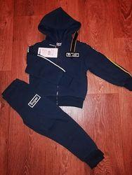 Спортивный костюм с начесом для мальчиков р. 98-128