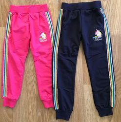 Спортивные брюки для девочек р. 98