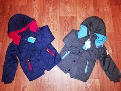 Демисезонная куртка для мальчиков, р.4-12