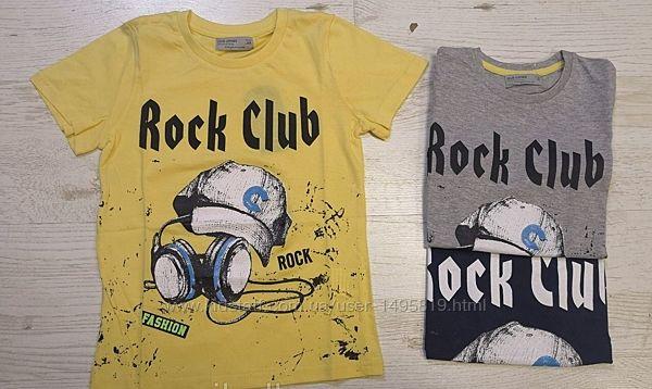 Стильная футболка для мальчика р.110-120