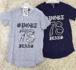 Трикотажная футболка для мальчиков р.134-164