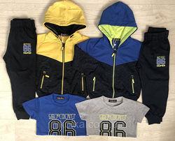 Спортивный костюм-тройка для мальчиков, р.98-122