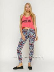 Джинси , штанішки в квітковий принт La Rose  p. xs, s
