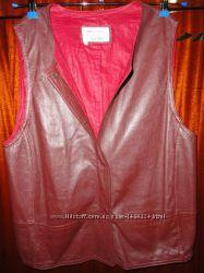 Кожаная жилетка Saint Mignar Leather натуральная кожа лайка