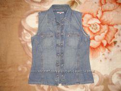 Джинсовая блузка s. Oliver