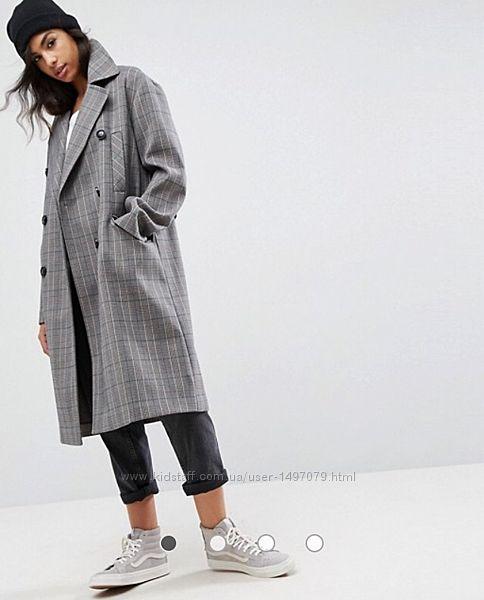 Новое стильное пальто ASOS, p. S-M