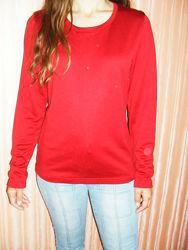 Кофта, свитер красная