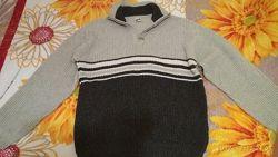 свитер  мужской, зимний,  теплый,  54-56 размер