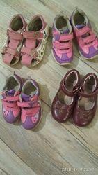 босоножки кожаные b&g,  little deer,  кросовки clarks, туфли