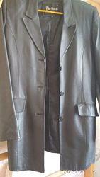 пиджак кожаный,  48 размер