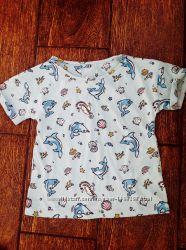 Фирменная футболка TU 56 лет с морскими животными