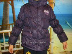 Распродажа   Фиолетовая демисезонная куртка на девочку 122 -146