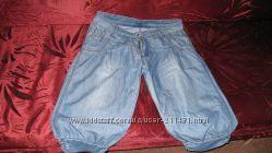 Літні джинсові бриджі