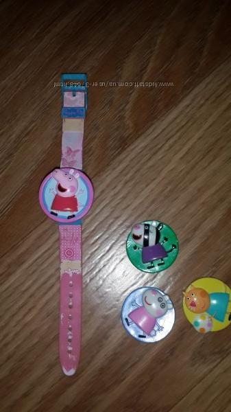 Часы свинка Пеппа