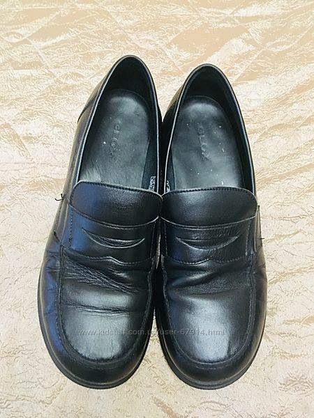 Кожаные туфли Geox, р. 38. Отличное состояние