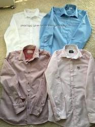 Рубашки в школу длинный рукав