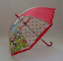 Нарядный зонт с рюшами для девочки 5-9 лет