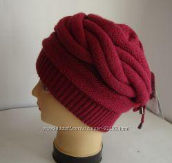 Женская зимняя шапка  70 шерсть