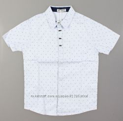 Рубашка с коротким рукавом, котон