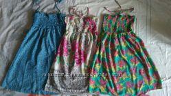 Невесомые хлопковые сарафаны и платья