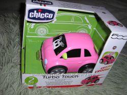 Машинка инерционная FIAT 500, TURBO TOUCH chicco